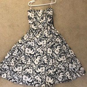Betsy Johnson Strapless Dress size 4